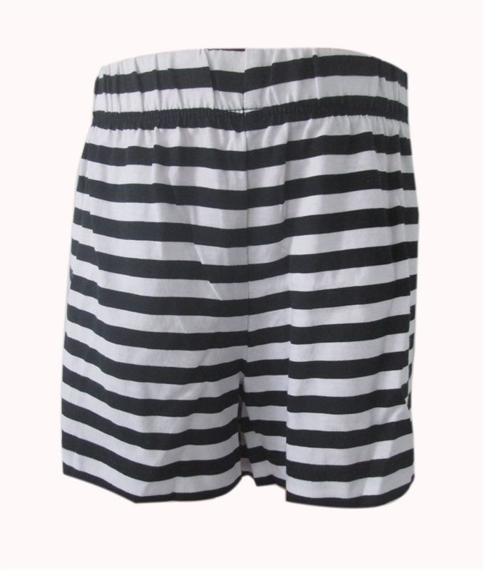 Emerson Black and White Stripes Shorts (10 yrs) (075)