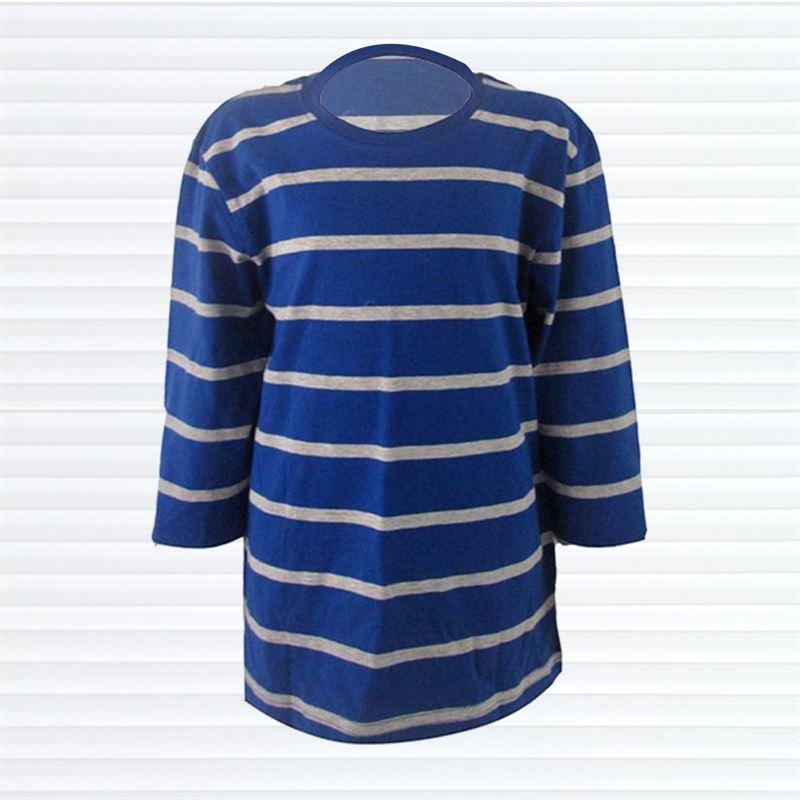 TILT Blue and Grey Stripe(062-Blue)(4yrs)