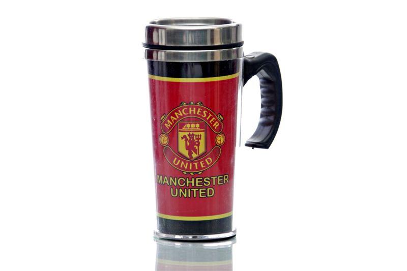 Champions League Manchester United Plastic Mug (Large)