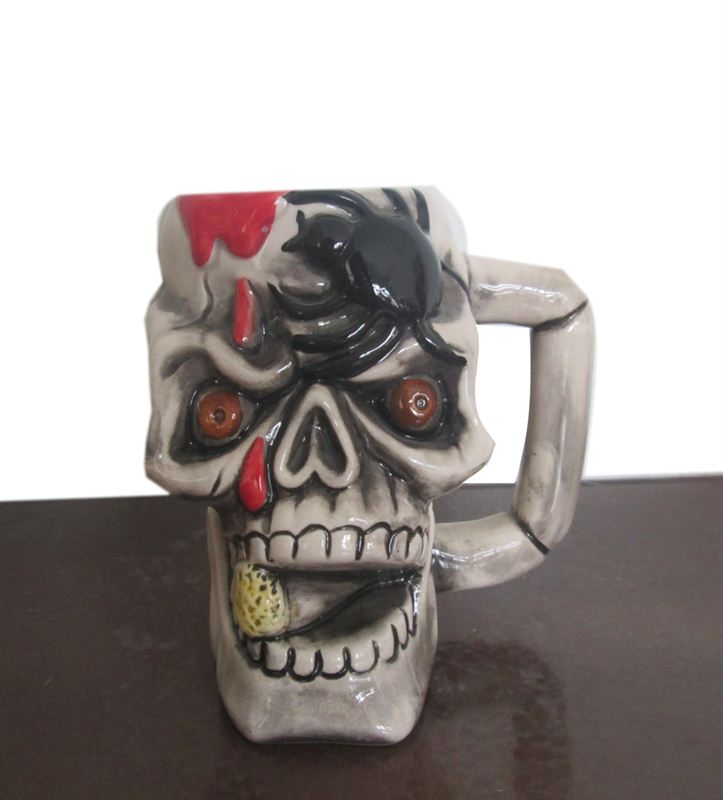 Skeleton Ceramic Cup