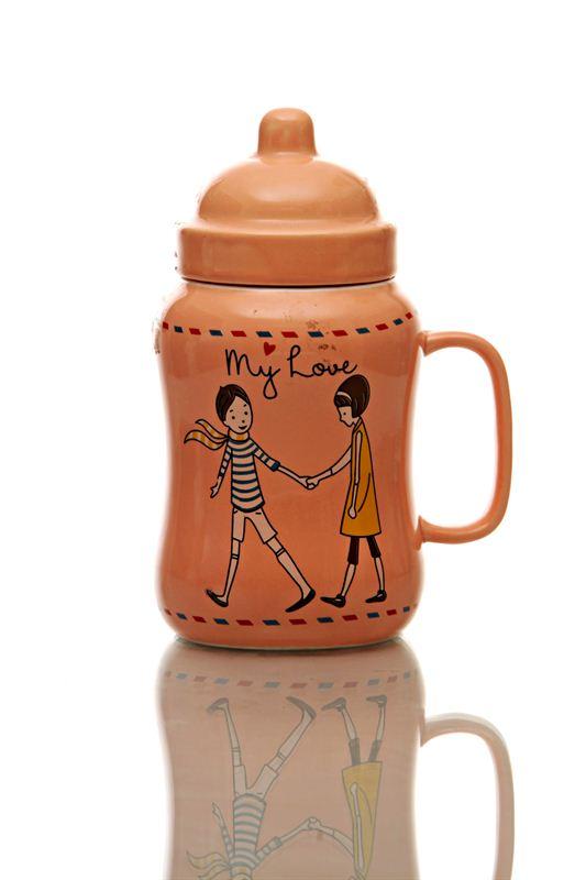 My Love Ceramic Cup