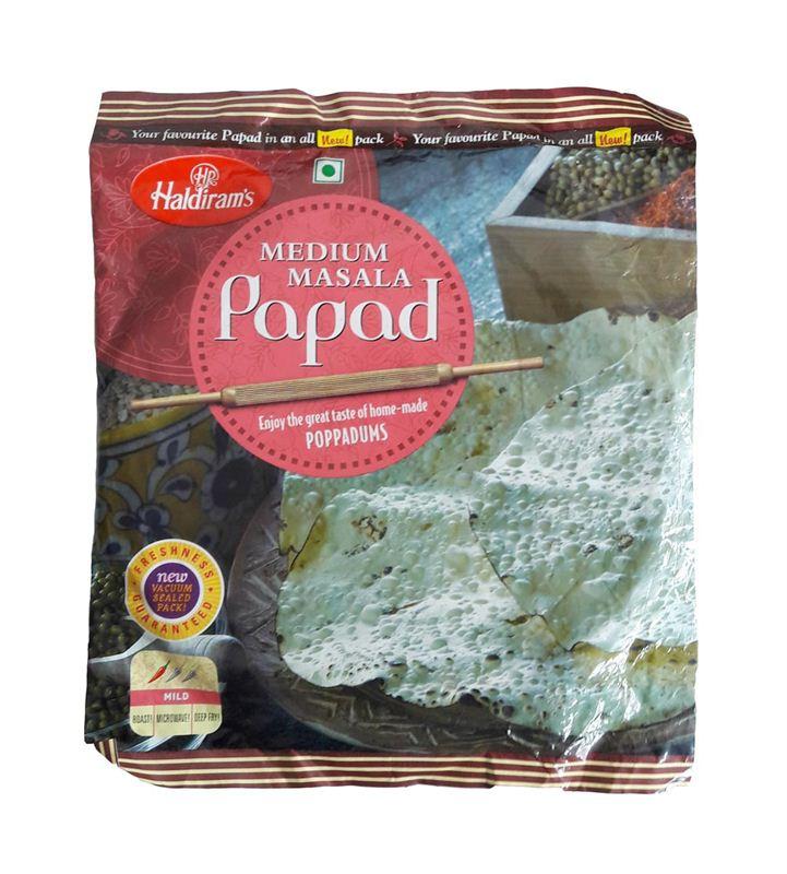 Haldiram's Medium Masala Papad (200g)