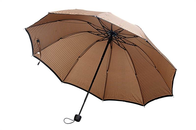 Brown Stripe Umbrella (E3121)