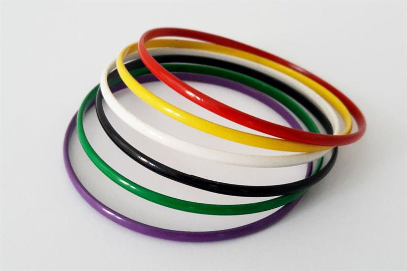 Special Multi Colored Bangles for Friendship Day