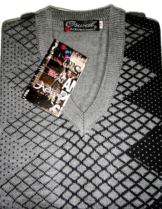 71248e203882 Oswal Active Box VN SL Sweater from Nepal Wool House - Send Gifts ...