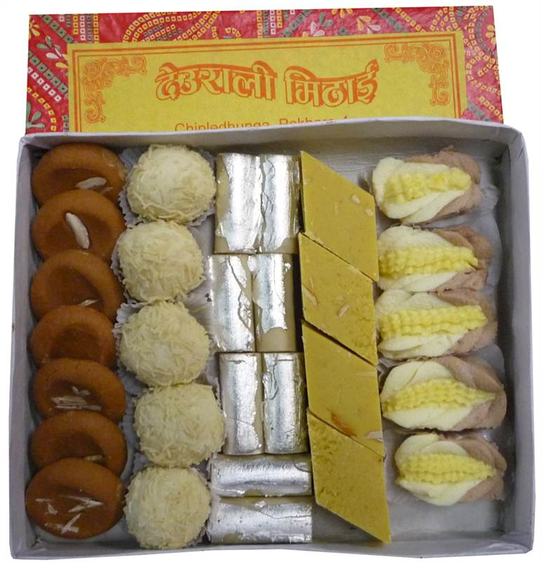 Mixed Sweets Box 5 from Hotel Deurali (SWPKR013)