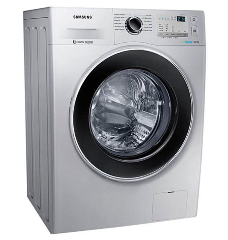 Samsung 8 Kg Front Loading Washing Machine (WW80J4213GS)