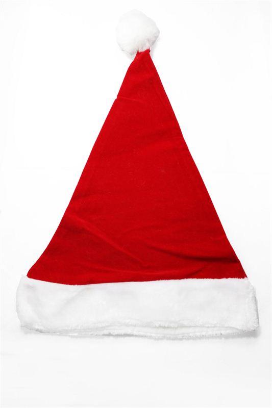 Velvet Santa Claus Cap