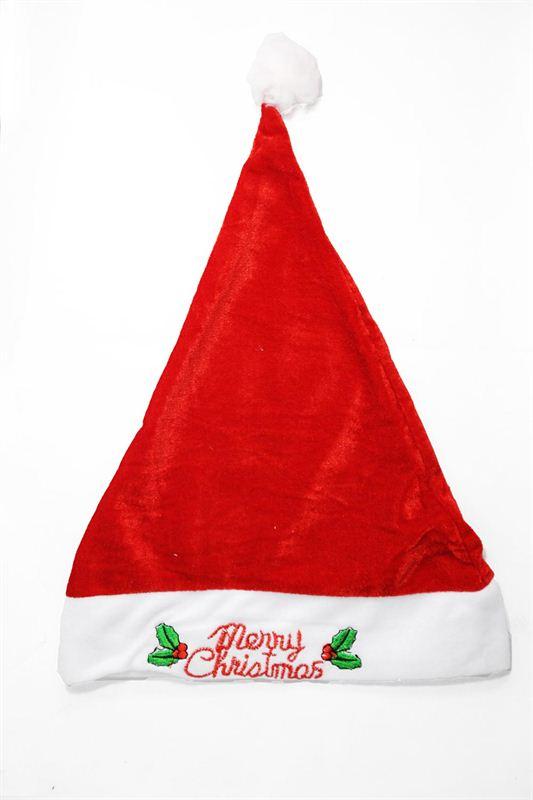 Santa Claus Velvet Cap
