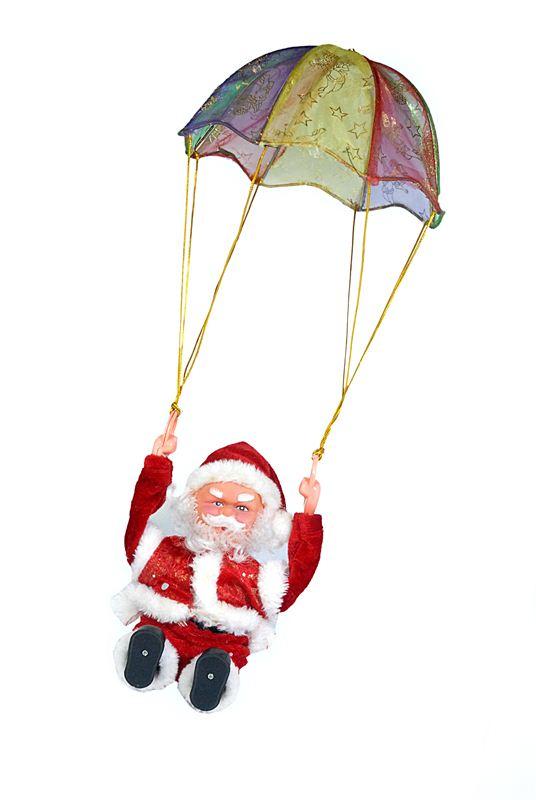 Tumbling Parachute Santa Toy (59)