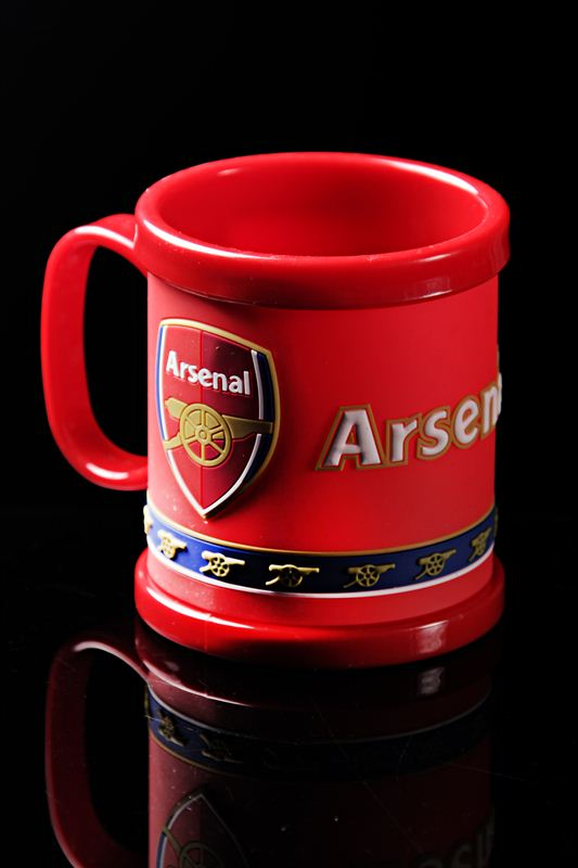 ARSENAL PLASTIC MUG