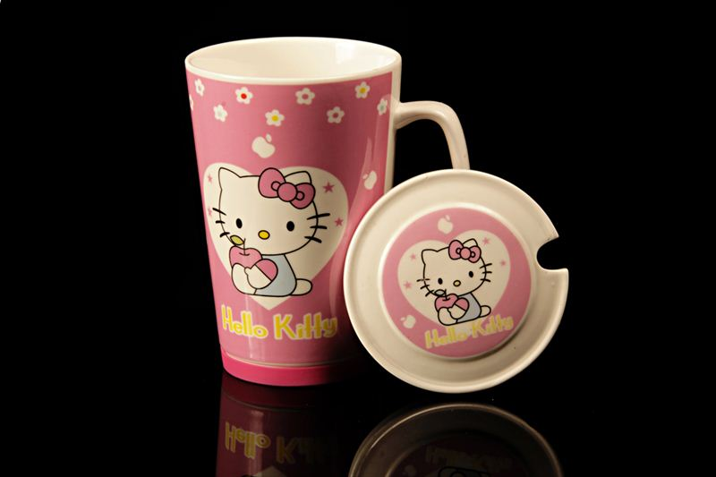 Pink Hello Kitty Ceramic Cup (21589)