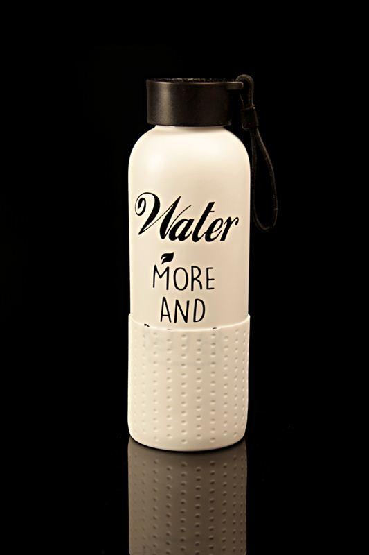 White Ceramic Bottle (22764)
