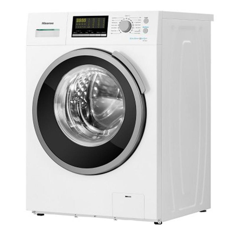 Hisense 8kg Front Loading Washing Machine (WFH8014) (Silver)