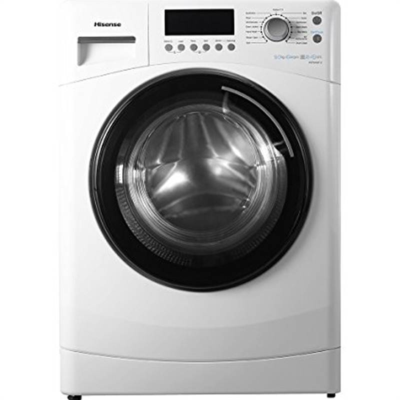 Hisense 9 kg Front Loading Washing Machine (WFNA9012) (White Color)