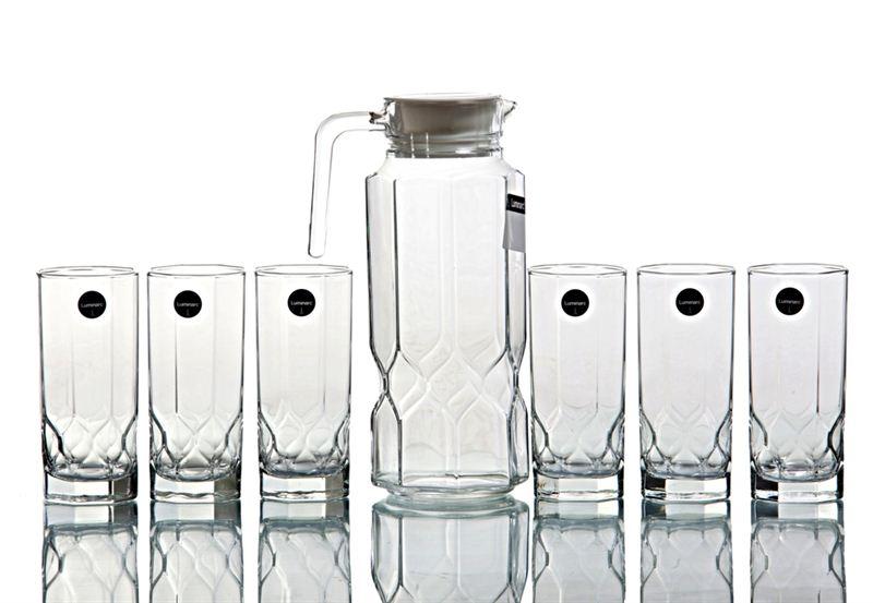 Luminarc 7 Pcs Octime Diamond Drink Set (J5875)