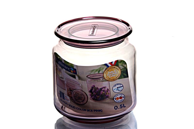 Luminarc Rondo 0.5 L Ice Pink Pot (J5875)