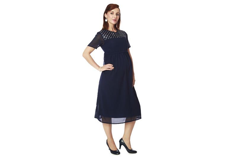 6201a6e72c6 Nine Maternity Wear One Piece Dress In Navy - Send Gifts and Money ...