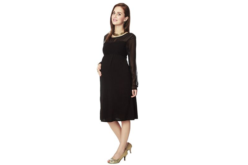 5d16560c6b2aa Nine Maternity Wear One Piece Dress In Black - Send Gifts and Money ...