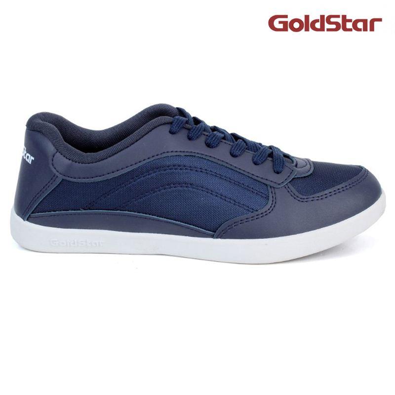 Goldstar Bnt White Sole Sneaker For Men- Navy Blue