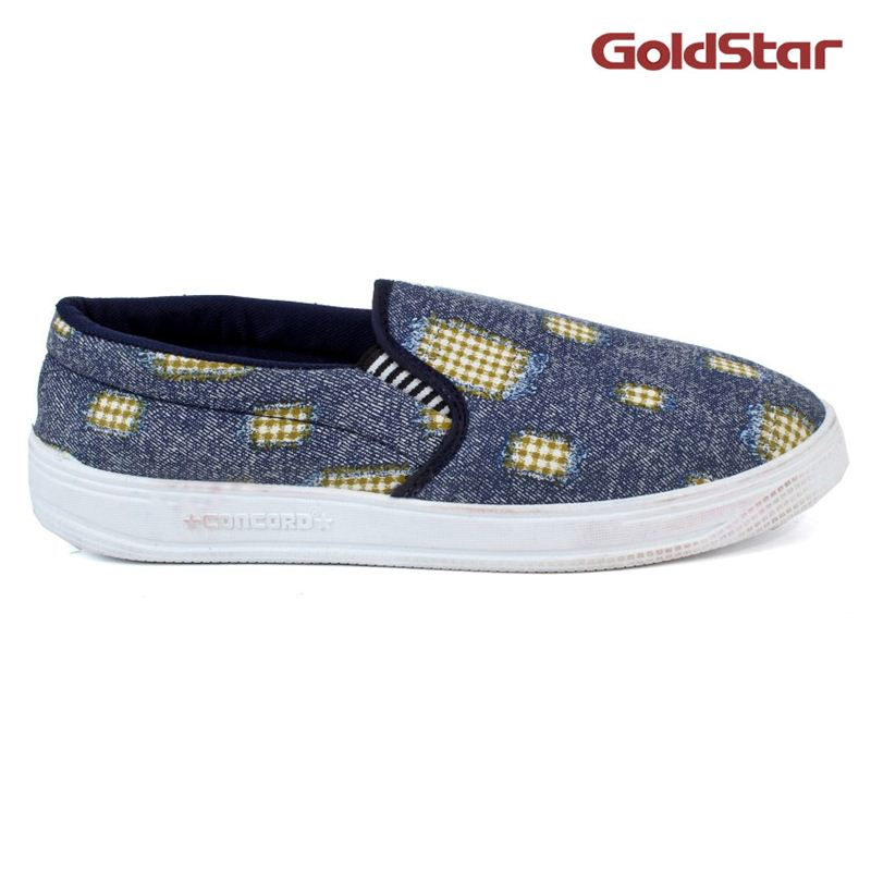 Concord Goldstar Sneaker For Men- Blue (Size 8)
