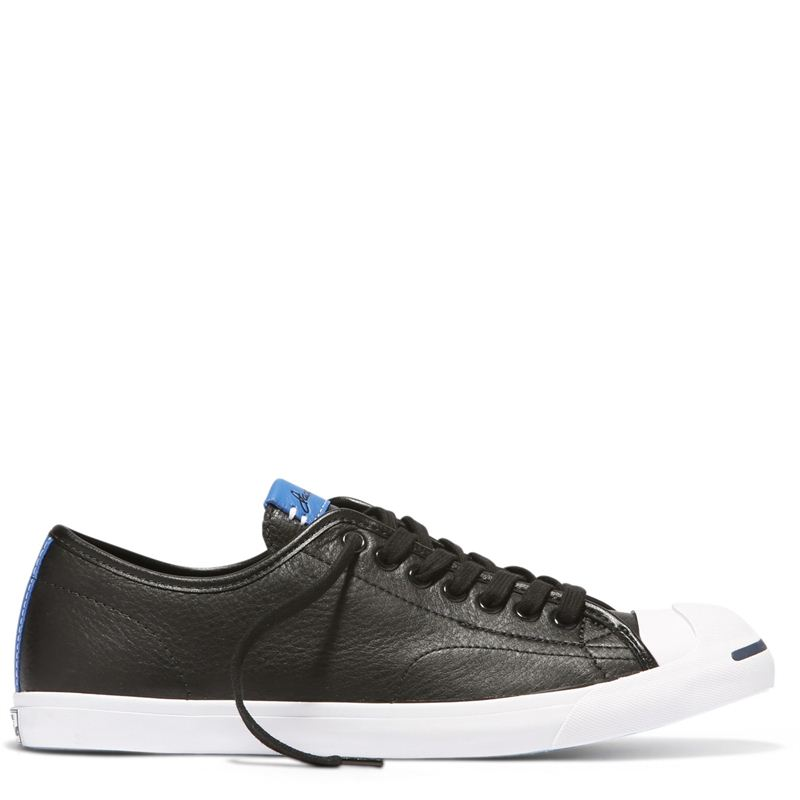 Converse All Star Jack Purcell LP Black and Blue Canvas Shoes- 156377C 8e6ff8104