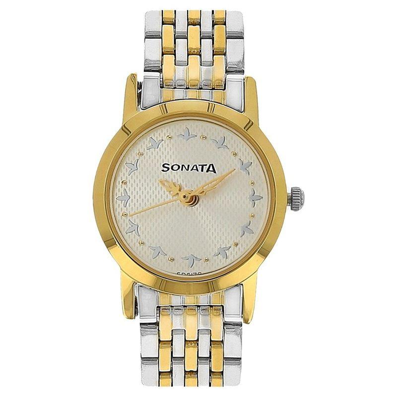 Sonata Women's Analogue Watch - 8137bm01