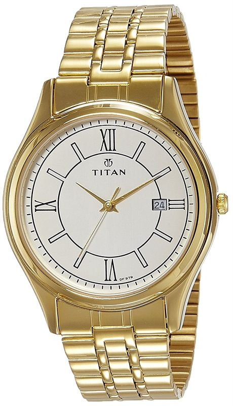 Titan Multi Color Dial Analogue Watch For Men - 1713YM02