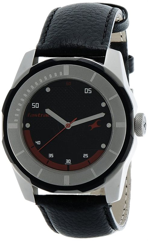 Fastrack Analog Black Dial Men's Watch - 3099SL06