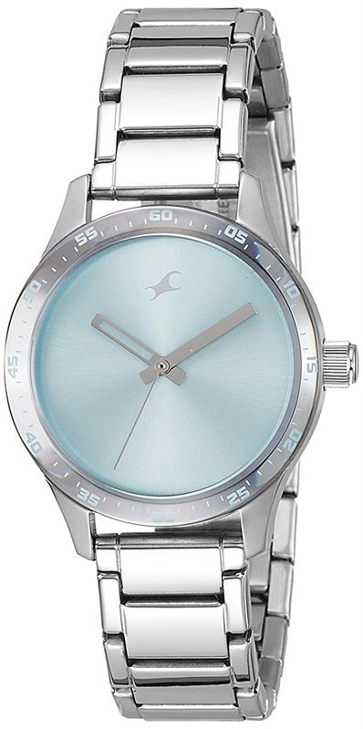 Fastrack Monochrome Analog Blue Dial Women's Watch - 6078SM03