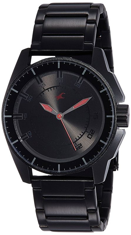 Fastrack Black Magic Analog Black Dial Men's Watch - 3089NM01