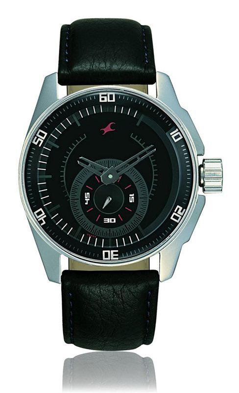 Fastrack Black Magic Analog Black Dial Men's Watch - NE3089SL04