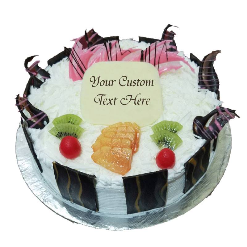 White Forest Cake (1 kg) from Chefs Bakery