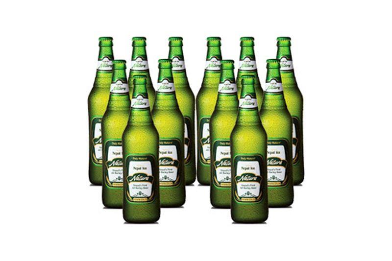 Nepal Ice Natura Beer (12 x 650 ml)