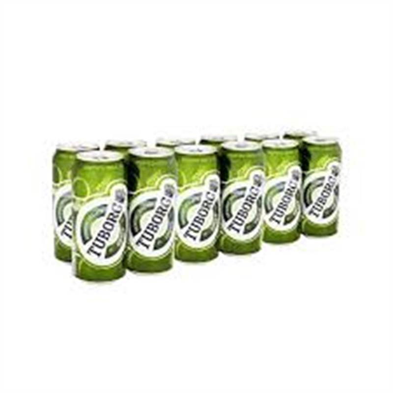 Tuborg Can 500ML (12 Cans)