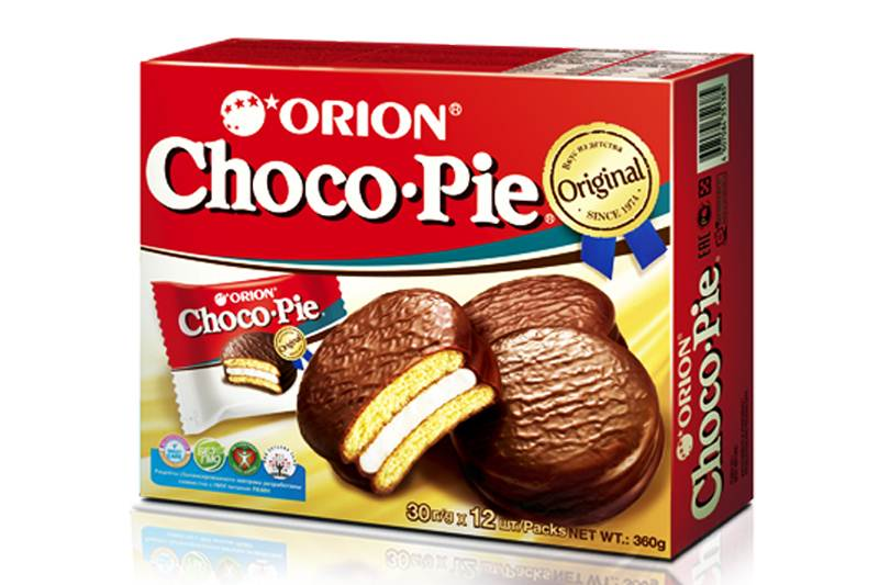 Orion Choco Pie 6 packs