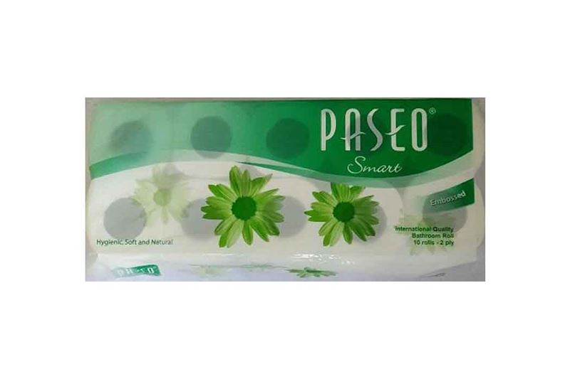 Paseo Smart Bathroom Tissue 10roll 2ply (S)