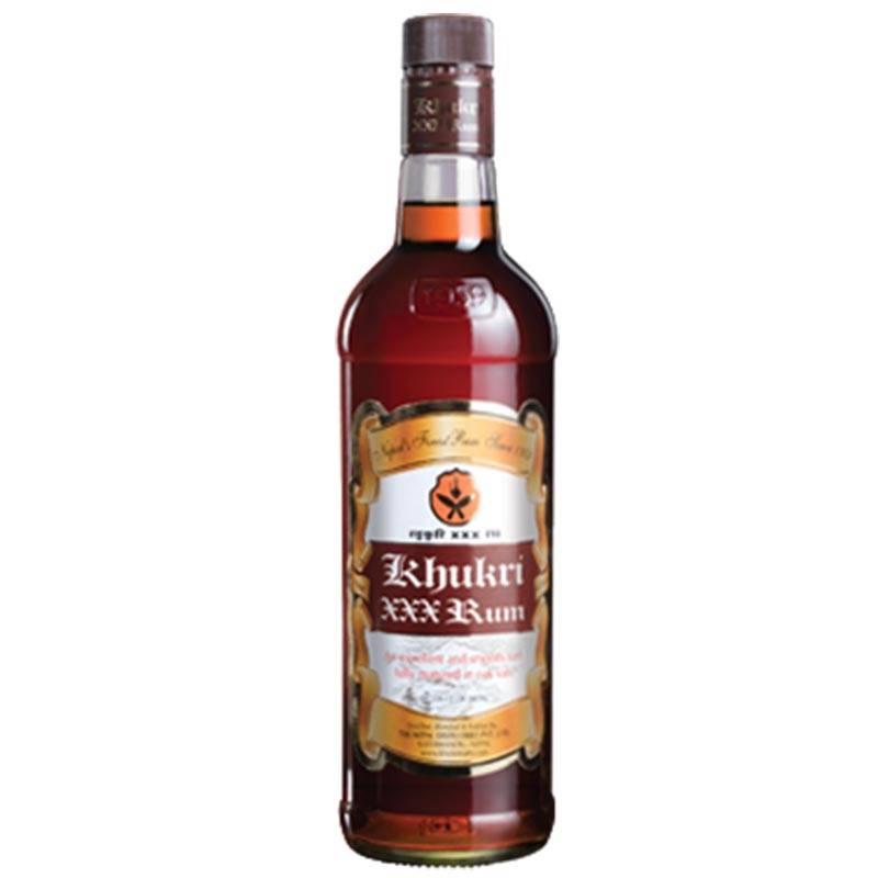 Khukri XXX Rum (750ml)