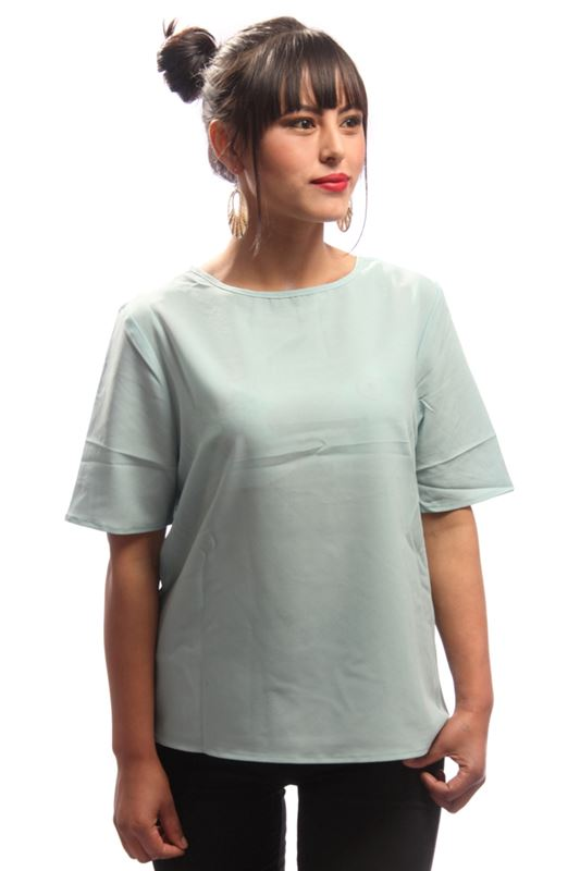 Basic Box Top (Pale Green)