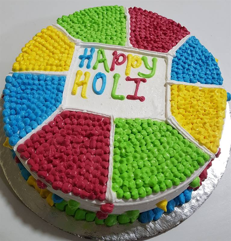 Holi Special Black Forest Cake (1 kg) from Chefs Bakery