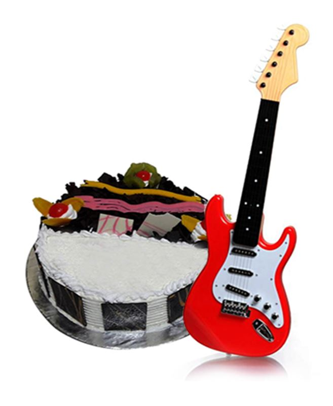 Cake & Guitar for Kids