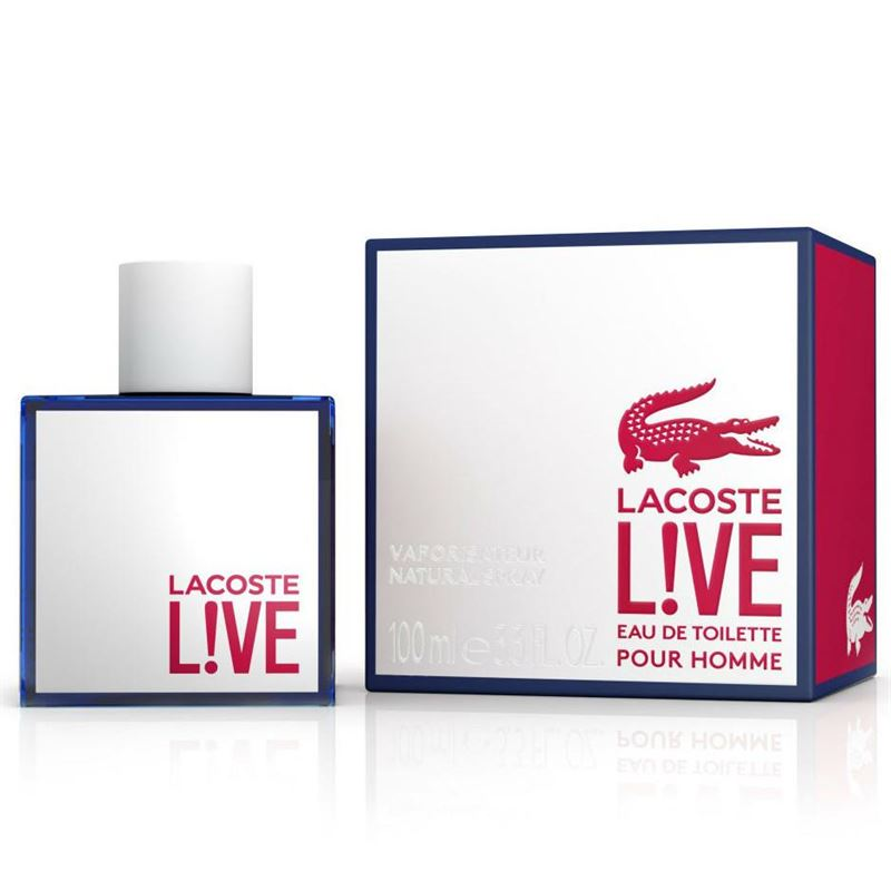 Lacoste LIVE ! Male Edt 100ml