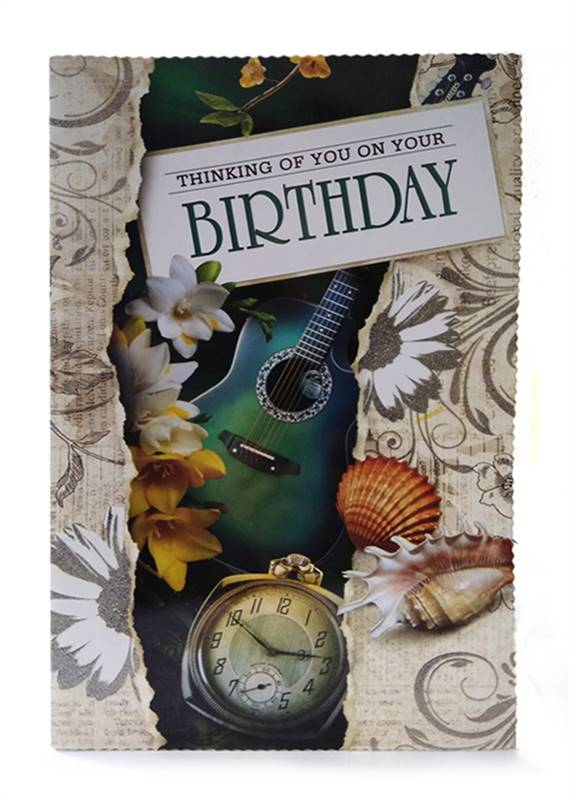 Birthday Card - Thinking of You on Your Birthday