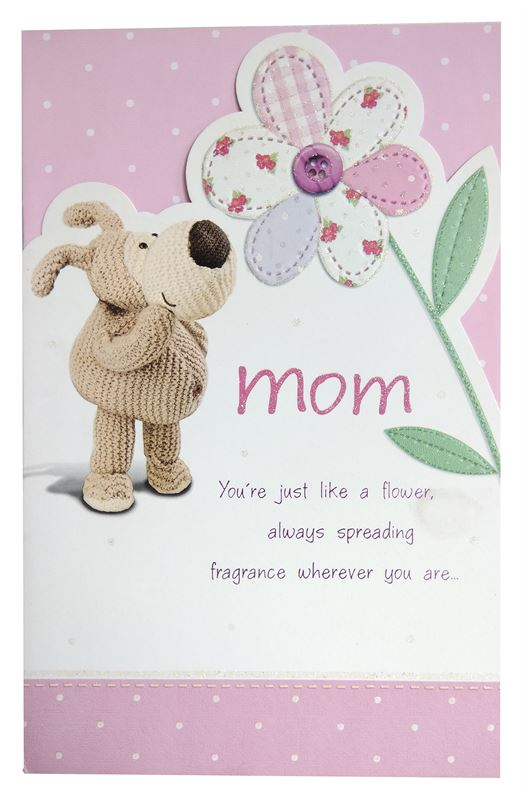 Mom You're Just Like A Flower Card