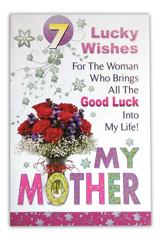 7 Lucky Wishes, My Mother Card