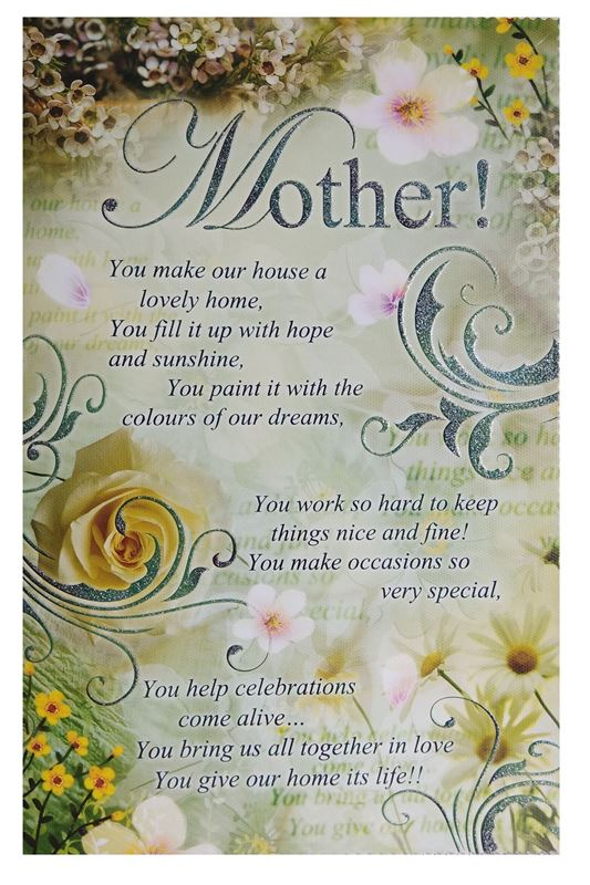 Mother! You Make Our House A Lovely Home Cards
