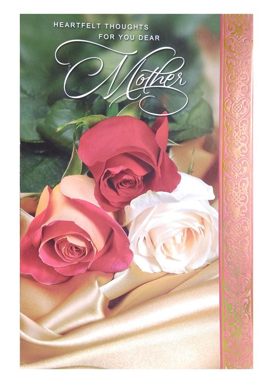 Heartfelt Thoughts for You Dear Mother Card