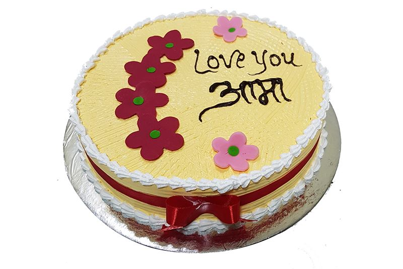 Mother's Day Special Butter Scotch Cake (1Kg) from Chefs Bakery
