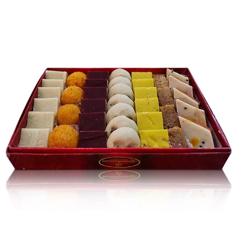Mix Sweets Box 4 (1 Kg) from Rameshwaram