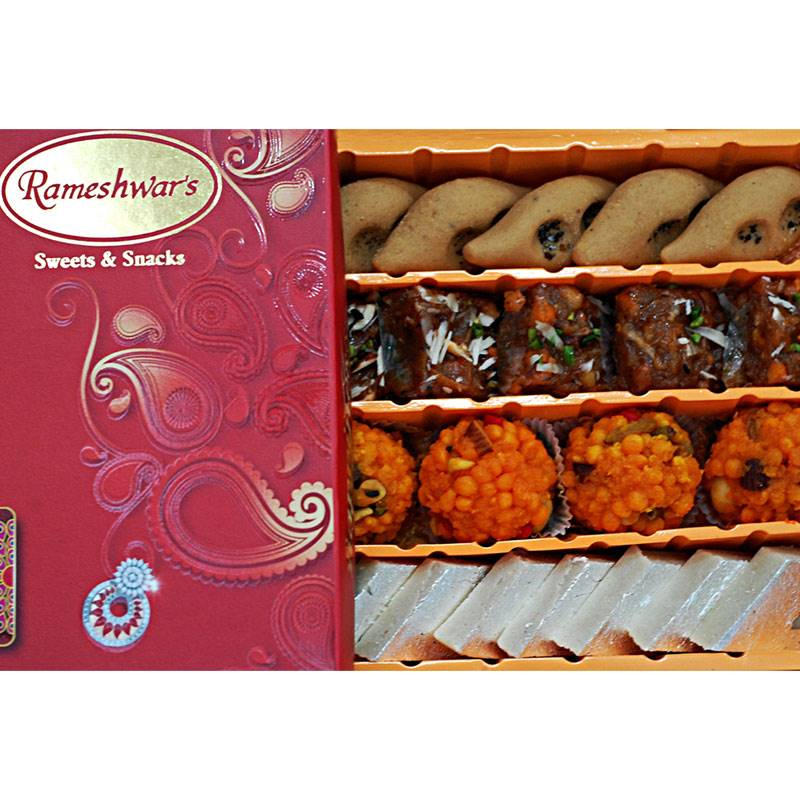 Mix Sweets Box 6 (1 Kg) from Rameshwaram